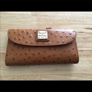 NWT Dooney & Bourke Ostrich Wallet